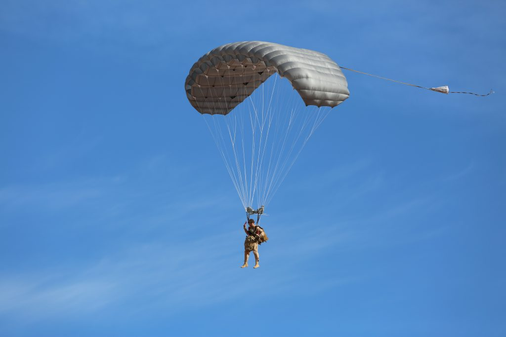 MMS Multi-mission Army Ram Air Parachute | Airborne Systems