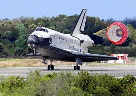 space shuttle orbiter landing speed - photo #10