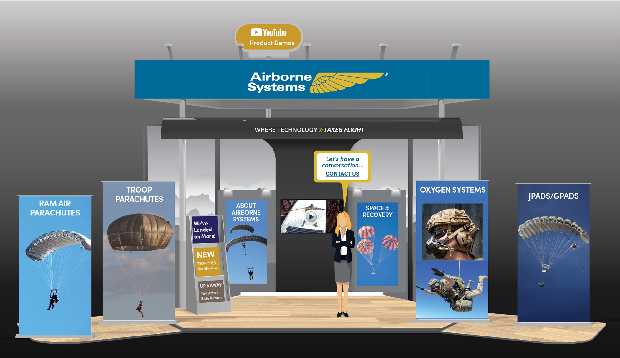 Airborne Systems - Virtual Booth