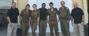 Airborne Systems Military Parachute Training in Israel with 2 instructors and 5 students (2 women). Troop and cargo parachute certification for army riggers & jumpers. Instruction for oxygen and JPADS systems.