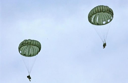 Chinese Army 28/' Multi Colored Parachutes