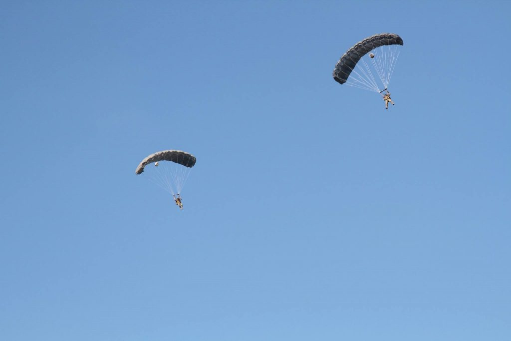 Ram Air Parachute Training for Army Military | Airborne Systems
